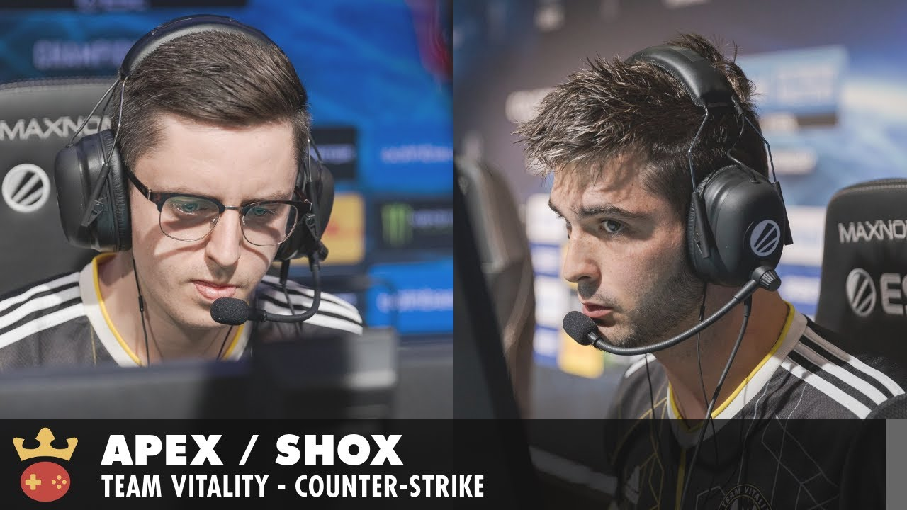 Video of Interview with apEX & shox from Team Vitality at ESL Pro League Season 14