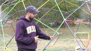 How To Build A Geodesic Dome - Assembly