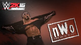 WWE 2K16 Spotlight || NWO Is Formed