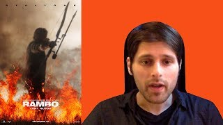 RAMBO LAST BLOOD (2019) TEASER TRAILER REVIEW