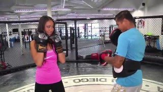 Ep.2 Seg.2 Muay Thai Fighter Marvin Madariaga with Hannah Joya