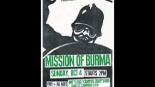 """MISSION OF BURMA  """"Class War"""""""