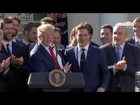 Remarks: Donald Trump Greets 2019 Stanley Cup Champion St. Louis Blues - October 15, 2019