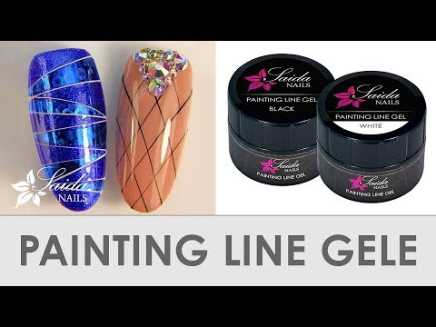 Die Absolute NEUHEIT ❀ Painting Line Gel (Saida Nails Nailart)
