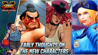 Sajam's Early Impressions of the New SFV Characters