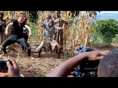 Masaka Kids Africana Dancing Joy Of Togetherness [Behind The Scenes]