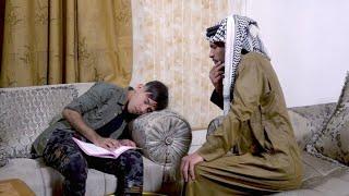 #تحشيش ابوي لزمني مسوي نفسي نايم ههههههه شوف شصار | كرار الساعدي