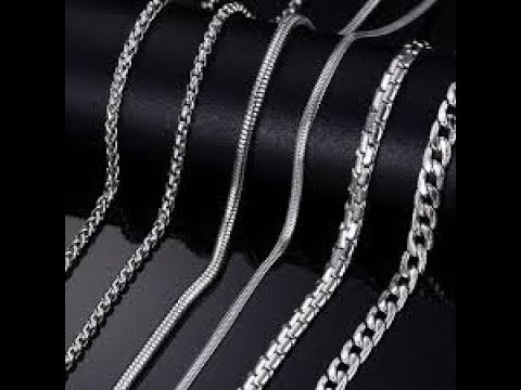 17223a23ba932 Silver Chains at Best Price in India