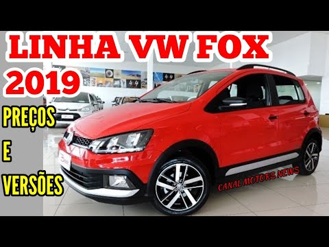 VW FOX 2019 PREÇOS, VERSÕES, NOVIDADES
