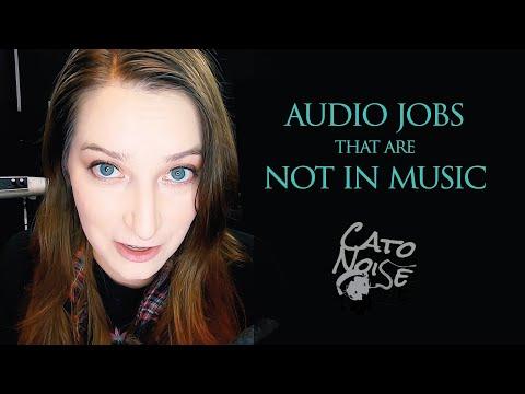7 Audio Engineering Jobs That Aren't Just Music