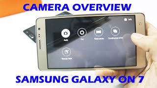Camera Overview Of Samsung Galaxy On7