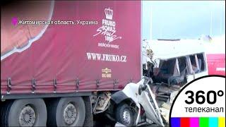 В крупном ДТП на Украине погибли двое россиян