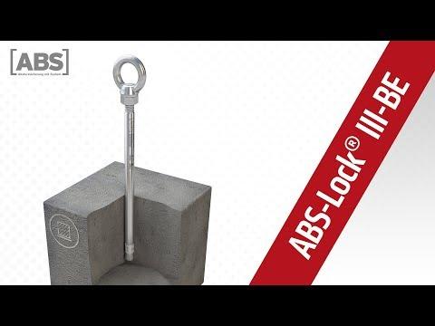 Kompakte Video-Präsentation zum Sekuranten ABS-Lock III-BE.