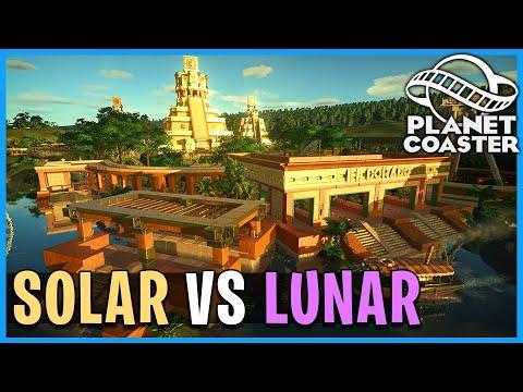 Solar vs Lunar: El Dorado! Planet Coaster: Coaster Spotlight 749