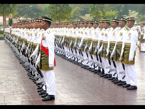 Honour Guard for new Malaysian Deputy Defence Minister
