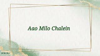 Aao Milo Chalo - Shaan, Sultan Khan (LYRICS) - YouTube