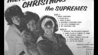 The Supremes - White Christmas - 1965 [Original Vinyl Mono] .wmv
