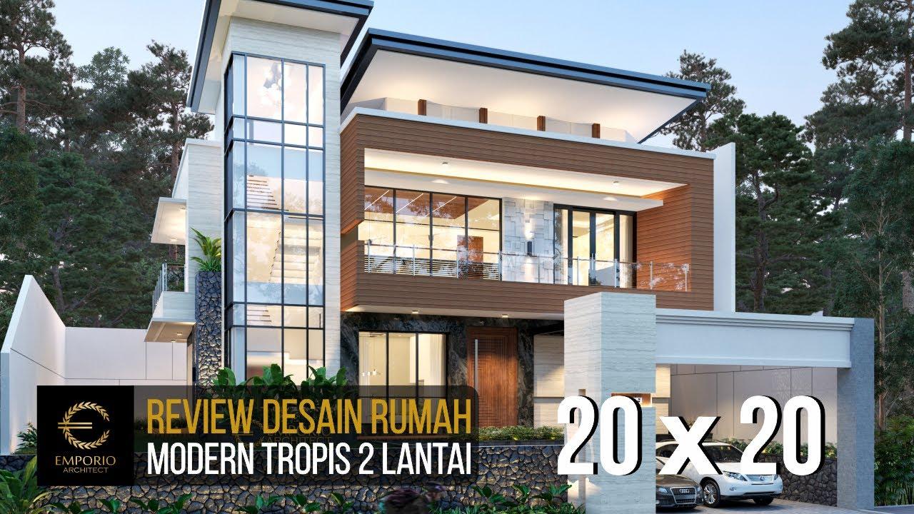 Video 3D Mr. Andrianto Modern House 2 Floors Design - Surabaya, Jawa Timur