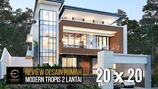 Video Desain Rumah Modern 2 Lantai Bapak Andrianto di  Surabaya, Jawa Timur