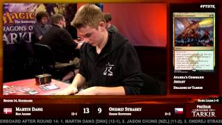 Pro Tour Dragons of Tarkir Round 14 (Standard): Sam Black vs. Paulo Vitor Damo Da Rosa
