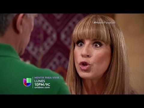 Mentir Para Vivir: Los enemigos quieren destruir a Inés y Ricardo - Avance capítulo 16