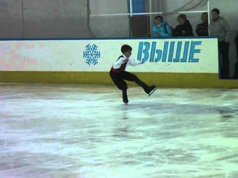 6-й етап Кубку України серед юних фігуристів 2012