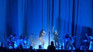 "Normani & 6LACK ""Waves"" LIVE @ Sweetener Tour LA   STAPLES Center 5719"