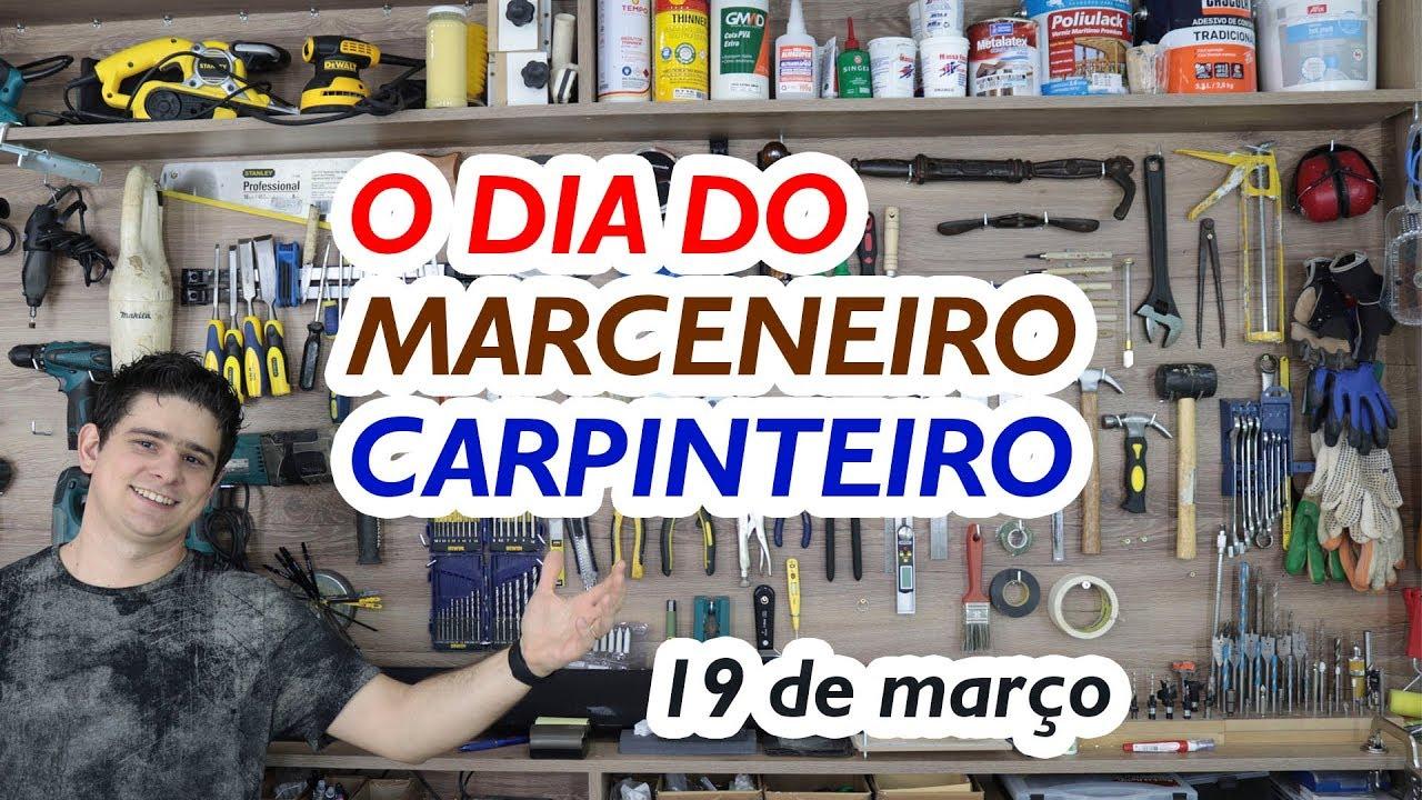 Marceneiro x Carpinteiro - Curiosidade básica e meus parabéns