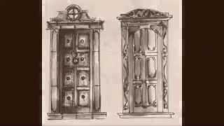 Solid Wood Wrought Iron Door Designs