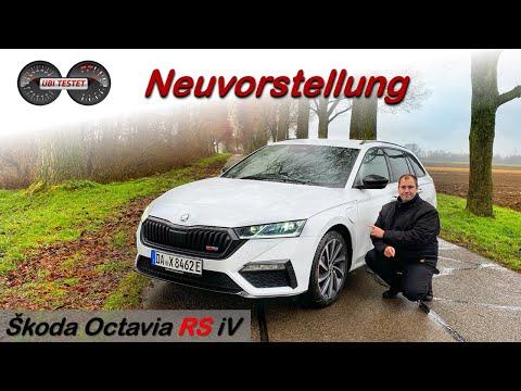 2021 Škoda Octavia RS iV - Trägt er das RS-Logo zu | Test - Review - Fahrbericht