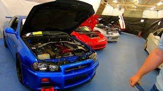 US Marshals Drug Auction Oklahoma R34 GT-R NSX Supra Celica GT Skyline