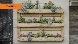How To Create A Pallet Garden | Mitre 10 Easy As Garden