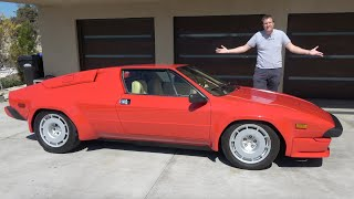 The Lamborghini Jalpa Is the Forgotten 1980s Baby Lambo