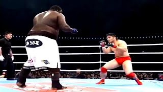 Zuluzinho (Brazil) vs Ikuhisa Minowa (Japan), Doesn't Size Matter? | MMA Fight, HD