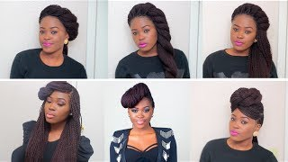 Gambar cover 6 Unique Quick & Easy Styles For Box Braids/Twists