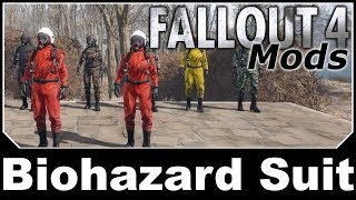 Fallout 4 Mods - Biohazard Suit