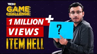Item Hell Challenge with RawKnee | Tech2 Game Challenge | PUBG
