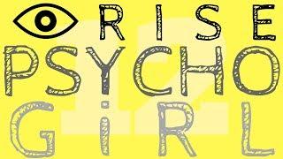 PSYCHO GiRL 12 LYRICS | I RiSE | Psycho Girl Minecraft Song
