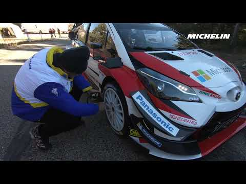 .@OttTanak's testing - 2019 @OfficialWRC #RallyMonteCarlo - Michelin Motorsport