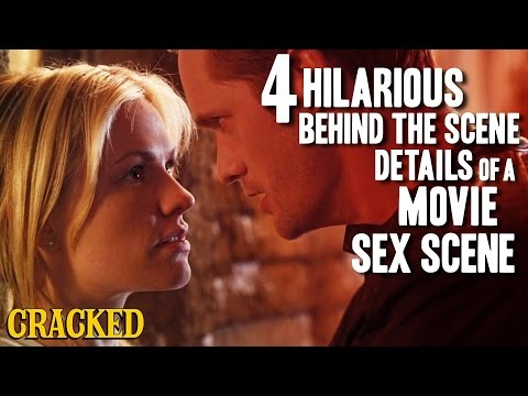 4 Hilarious Behind The Scene Details of a Movie Sex Scene
