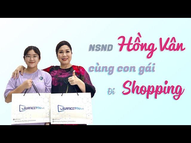 Một ngày cùng cô Hồng Vân và bé Bí Ngô tại cửa hàng SurfacePro.vn