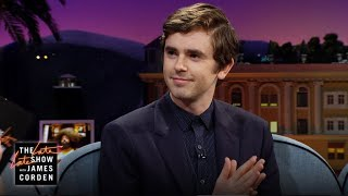 Freddie Highmore's 'The Good Doctor' Is Sexy In Spain - Video Youtube