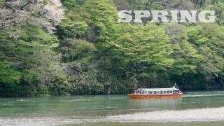 最上川舟下り 戸沢藩船番所 (Boat Trips Down the Mogami River)