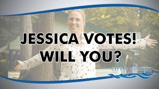 Jessica Votes! Will you?
