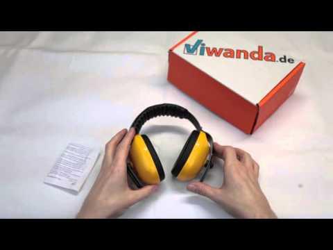 Viwanda Gelbe Kapselgehörschützer