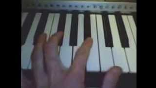 Basshunter - Plane to spain [Piano cover]