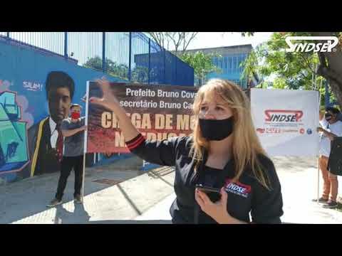"""Sindsep leva campanha """"Chega de Mortes na Educação"""" para o CEU Vila Formosa com caso de Covid-19 confirmado"""
