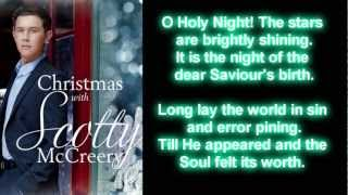 Scotty McCreery - O Holy Night (Lyrics)