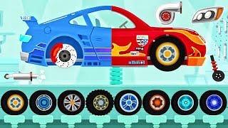 Car Driving For Kids: Car McQueen, Monster Truck | NEW Car Dinosaur Videos For Children
