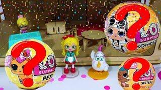 Сью Спагетти ждут сюрпризы с куклами. Сюрпризы с игрушками для девочек. ИДК
